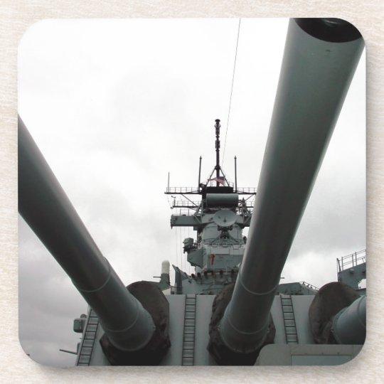 BB-62 Battleship New Jersey Drink Coaster
