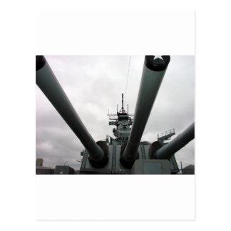 BB-62 Battleship New Jersey Postcard