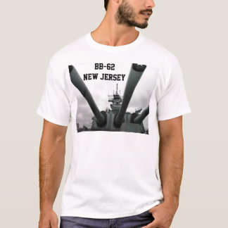BB-62 Battleship New Jersey T-Shirt