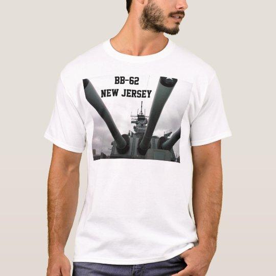BB-62 Battleship New Jersey T-Shirt