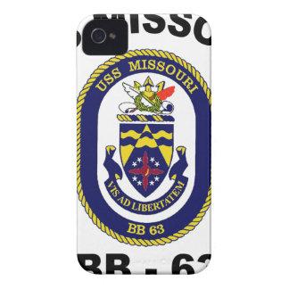 BB-63 USS Missouri iPhone 4 Carcasa