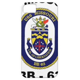 BB-63 USS Missouri iPhone 5 Carcasas