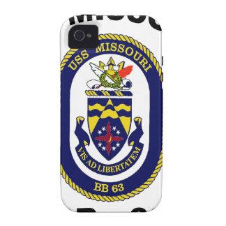 BB-63 USS Missouri Case-Mate iPhone 4 Funda