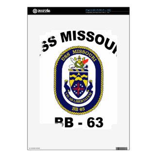 BB-63 USS Missouri Skin For iPad 2