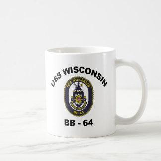 BB-64 USS Wisconsin Coffee Mug