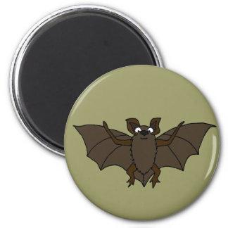 BB- Awesome Bat Cartoon Refrigerator Magnet