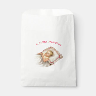 BB BABY NEW BORN  CARTOON  bag White Favor 2