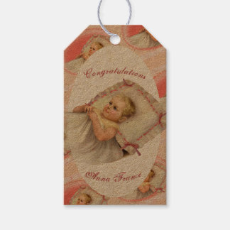 BB BABY NEW BORN CARTOON GIFT TAG Kraft