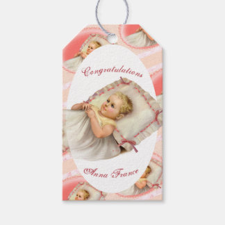 BB BABY NEW BORN CARTOON GIFT TAG MATTE