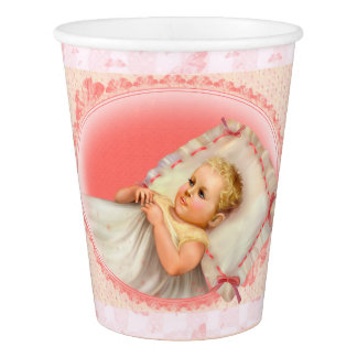 BB BABY NEW BORN CARTOON  PAPER CUP