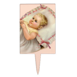 BB BABY NEW BORN CARTOON Rectangle Cakepick