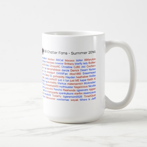 BB Chatter Roll Call 2014 Mug