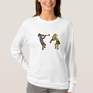 BB- Dancing Dogs Cartoon Shirt