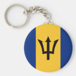 BB de la bandera de Barbados Llavero