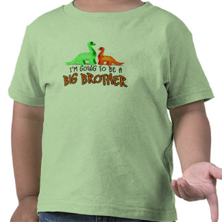 BB Dinosaur I'm going to be a big brother Shirt