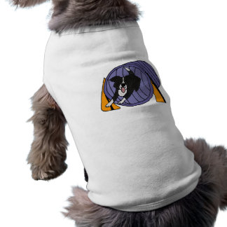 BB- Dog Agility Tunnel Cartoon Pet Tee
