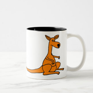 BB- Funny Cartoon Kangaroo Mug