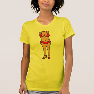 BB- Hilarious Bikini Bathing Suit Body Cartoon Tshirts