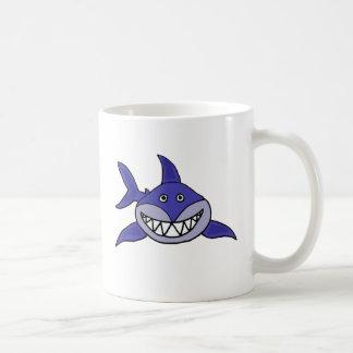 BB- Hilarious Grinning Shark Cartoon Mug