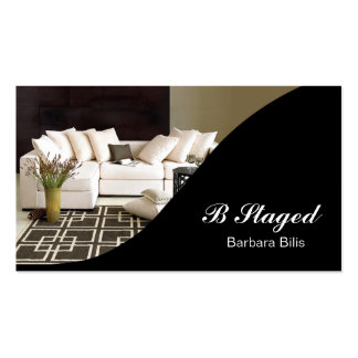 BB Interior Designer Home Staging Double-Sided Standard Business Cards (Pack Of 100)