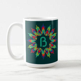 Bb Medallion Assembled Brights Classic White Coffee Mug