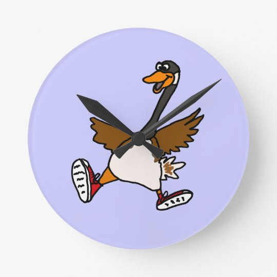BB- Silly Goose Wall Clock