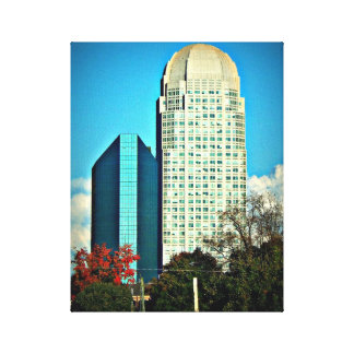 BB&T Financial and Wells Fargo Canvas Photograph
