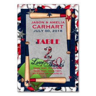 BB Wedding Numbered Table Cards 2-CUSTOM TEMPLATE