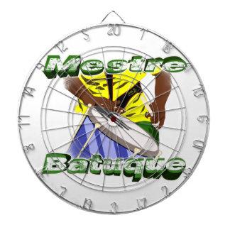 BBaC Arrows Mestre Batuc Samba Batucada Brasil Tablero De Dardos