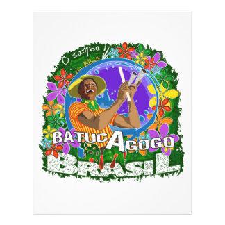 BBaC Shirt Batuc Agogo Samba Batucada Brasil Flyer