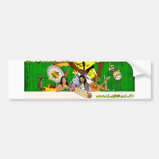 BBaC Stiker Samba Batucada Brasil Bumper Sticker