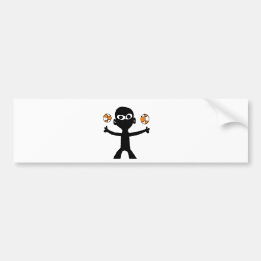 bball bumper stickers
