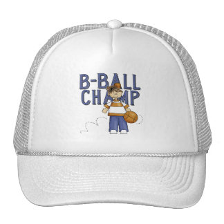 BBall Champ T-shirts and Gifts Trucker Hat