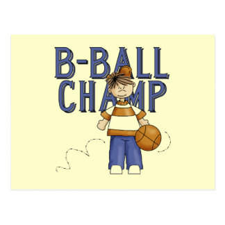 BBall Champ T-shirts and Gifts Postcard