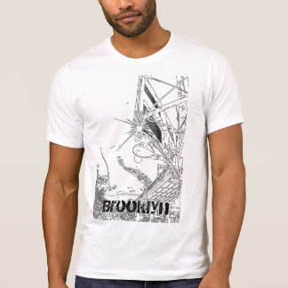 bball sketch, Brooklyn T-Shirt