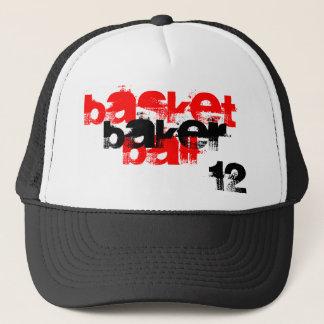bball trucker hat