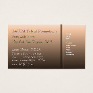 BBB - BAVERLY Brown Beauty 3 Business Card