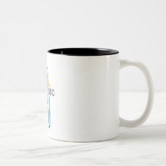 "BBC ""Le mug"" Two-Tone Coffee Mug"