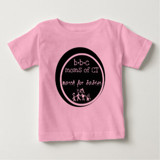 BBC Moms of CT - March for Babies Baby T-Shirt
