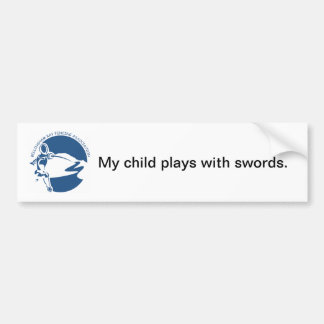 BBFA Bumper Sticker - child