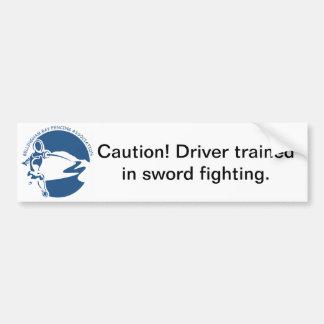 BBFA Bumper Sticker - Driver Car Bumper Sticker