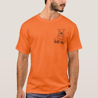bbig ddog Bulldog head T-shirt