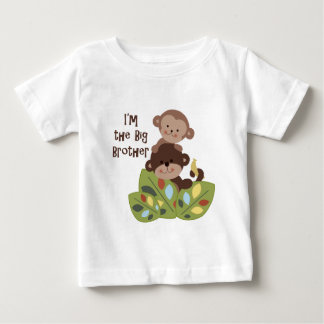 BBig/Little Brother Curly Tails Monkey Shirt