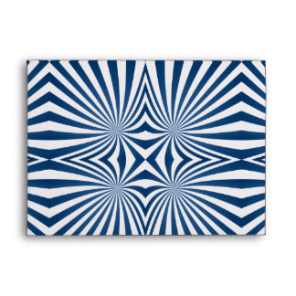 bBlue repeating hypnotic pattern Envelopes