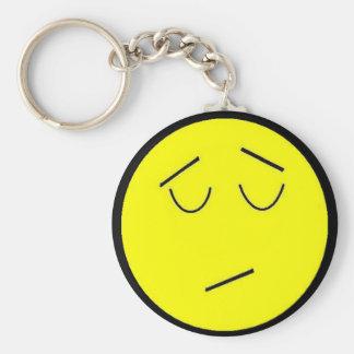 BBM Not interested keychain