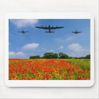 BBMF Poppy flypast Mouse Pad