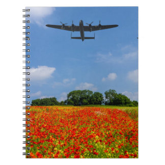 BBMF Poppy flypast Notebook