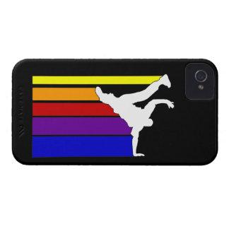 BBOY alinea el arco iris Carcasa Para iPhone 4 De Case-Mate