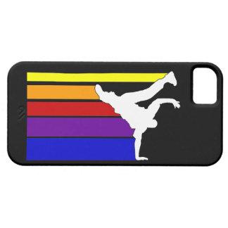 BBOY alinea el caso del iPhone 5 del arco iris Funda Para iPhone SE/5/5s
