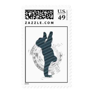 BBOY Dance Postage Stamps
